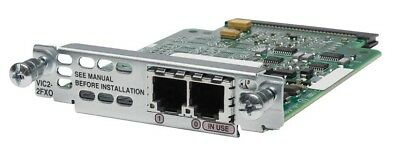USED Cisco VIC2-2FXO 2-port Voice Interface Card - FXO • 18.58£
