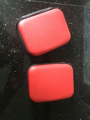 2x Red Carry Cases For External Hard Drives. Used Good Consition  • 0.99£