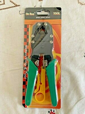 Crimping Tool With Wire Stripper/Cutter • 4£