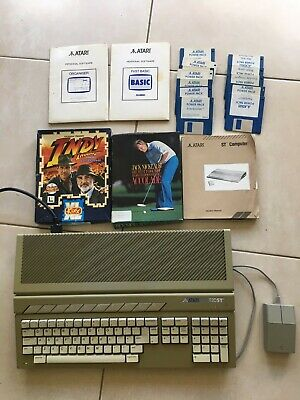Atari ST520. Unboxed. Mouse & Games. Worked When Last Used But Can't Confirm. • 35£
