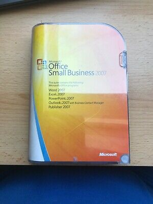 Microsoft Office Small Business 2007 • 5.50£