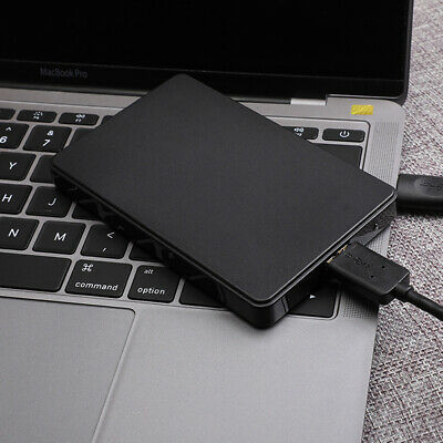 Portable 2TB USB 3.0 External Hard Drive Disks HDD 2.5Inch Fit For PC Laptop • 21.55£