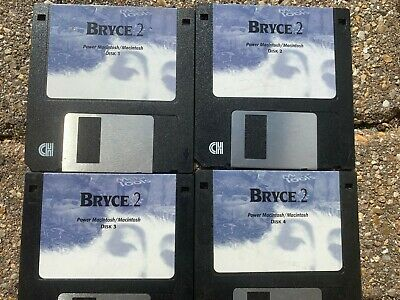 Bryce 2 Four 3.5  Disks • 23£