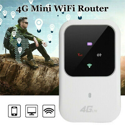 UK Unlocked 4G-LTE Mobile Broadband WiFi Wireless Router Portable MiFi Hotspot • 28.99£