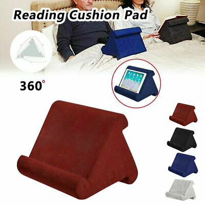 Tablet Stand Pillow Book Reader Holder Rest Lap Reading Cushion For Phone  IPad • 8.99£