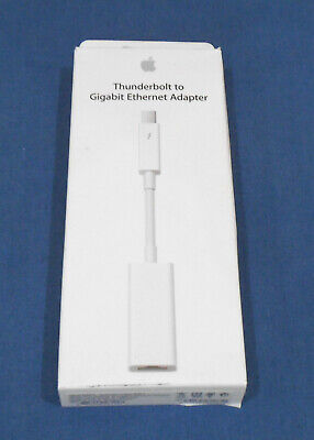 Genuine NEW Apple A1433 Thunderbolt To Gigabit Ethernet Adapter MD463ZM/A • 21.99£