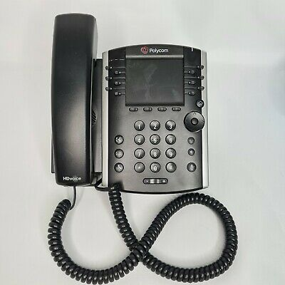 Polycom VVX 411 HD Business Office VOIP IP VVX411 Skype SfB Teams PoE Phone  • 35£