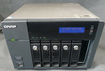 Qnap Network Attached Storage, Model TS-669 Pro, 3 X 3TB HDD'S, Media Player • 535£