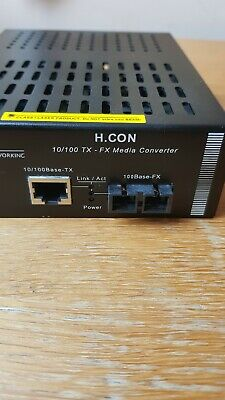 FibroLAN Fibre Optic Lan Converter (media Converter)  • 20£