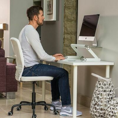 Adjustable Portable Desk Laptop Stand, Sofa Bed PC Notebook Desk Table Tray • 39£