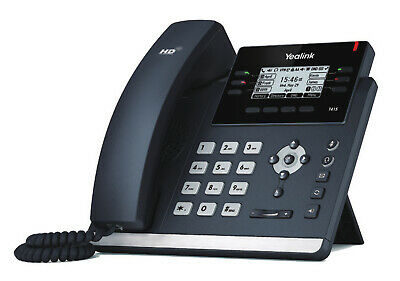 Yealink SIP-T41S IP Phone Black Wired Handset LCD 6 Lines • 114.19£