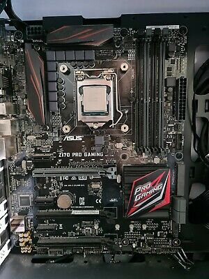 I7 6700 Cpu And Asus Z170 Pro Gaming Motherboard  • 128£