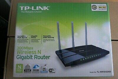 TP-Link 300 Mbps Wireless N Gigabit Router • 45£