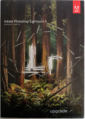 Adobe Lightroom 5 Upgrade Edition Disc With Licences Standalone • 9.99£