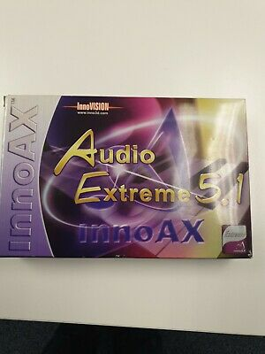 Audio Extreme 5.1 Sound Card By InnoAX - Boxed And Unused • 5£