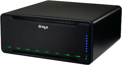 Drobo B800fs 8 Bay NAS - 27TB RAW Storage Capacity - Hybrid RAID Array Hot Swap • 310£