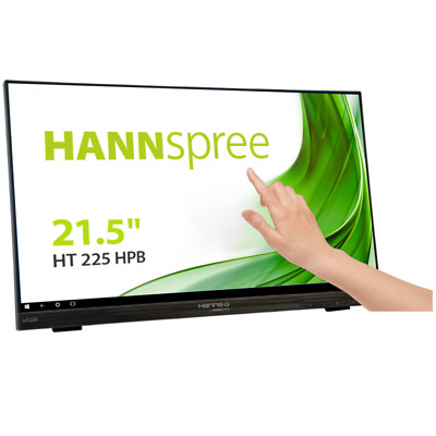 Hannspree HT 225 HPB 21.5 Inch LED IPS - IPS Panel, Full HD, 7ms, Speakers, HDMI • 190£