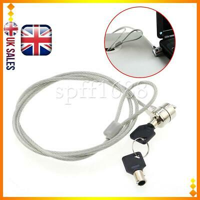 Security Key Computer Lock Anti-theft Chain 1.2M For Laptop Notebook PC NEW • 4.86£