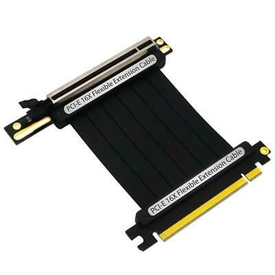 PCIe 3.0 X16 PCI Express Riser Extender Cables Flexible High Speed 90 Degree GUP • 19.78£