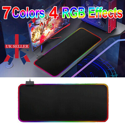 90CM X 30CM EXTRA LARGE XL GAMING MOUSE PAD MAT FOR PC LAPTOP MACBOOK ANTI-SLIP • 5.39£