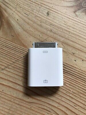 Apple A1358 30 Pin IPad/iPhone Camera Connection USB Adapter • 10£