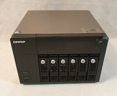 Qnap Network Attached Storage, Model TS-669 Pro, 3 X 3TB HDD'S, Media Player • 475£