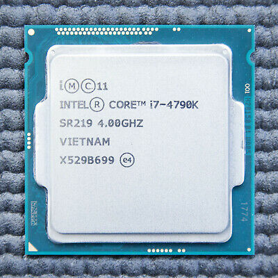 Intel Core I7 4790K 4790 K Processor CPU 4.0 GHz LGA1150 *FULLY TESTED* • 154.99£