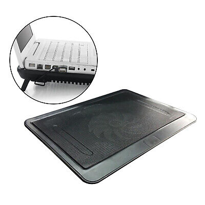 14  Laptop Cooler Mat Cooling Pad Stand Tray USB Powered 1 Fan Bracket • 10.92£