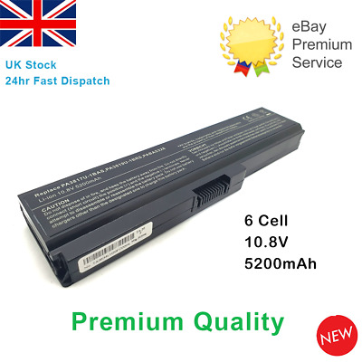L750 PA3817U-1BRS Laptop Battery For Toshiba Satellite L745 L750 L755 L755D UK • 15.89£
