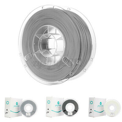 UK 1PC PolyLite Polymaker 1.75mm PLA 750g/Roll 3D Printing Filament Black White • 11.99£
