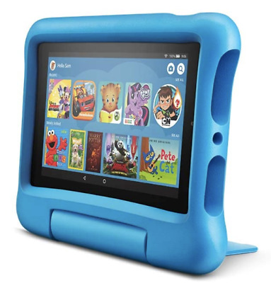 💙 *NEW* Amazon Fire 7 Tablet For Kids,💙BLUE💙 • 83£