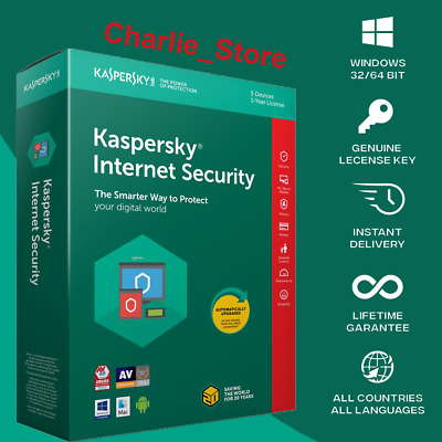 Kaspersky Total Security ✔  1 Device ✔ ✔ 2 Year ✔ • 7.99£