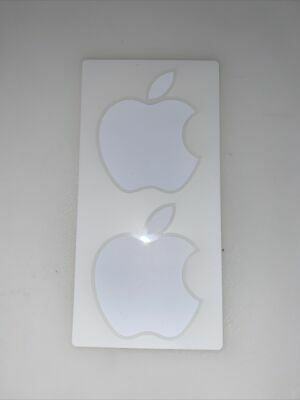Genuine Apple Stickers - White • 1.99£
