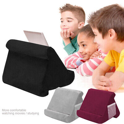 Multi-Angle IPad Tablet EReaders Magazine Holder Play Soft Pillow Lap Stand Gift • 8.99£