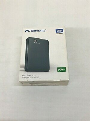 WD Elements 500 GB Simple Storage USED Good Condition (S1)(L) • 11.09£