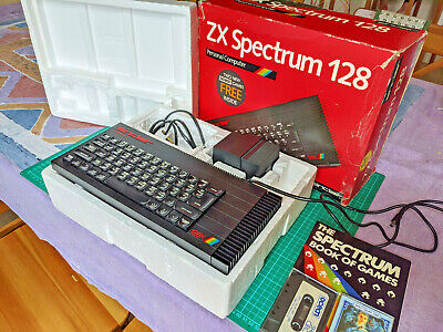 ZX Spectrum 128 Toastrack And Extras - Lovely Working Condition - Refurbished • 290£