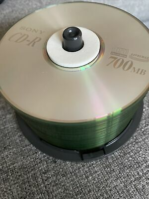 35x Sony CD Compact Disc Recordable 700mb New • 6.80£