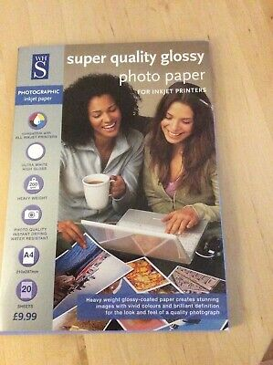 Super Quality Glossy Photo Paper • 4£