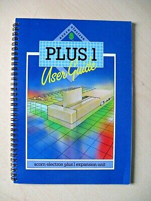 Acorn Electron Plus 1 Expansion  Unit User Guide Issue 1 March 1984 • 3.99£