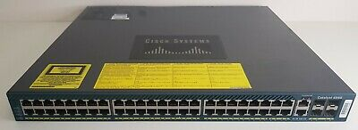 Cisco Catalyst WS-C4948-E V08 48 Port Ethernet Gigabit Switch  • 125£