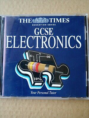 GCSE Electronics The Times Education Series CD • 5£