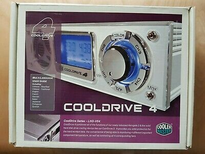 CoolerMaster Cooldrive 4. LHD-V04. Fan Controller & Temp Monitor. (Boxed) • 29.99£