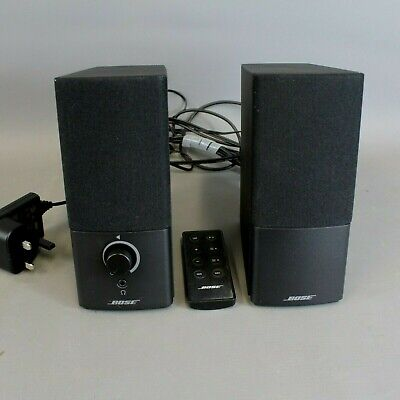 BOSE COMPANION 2 SERIES III Multi Media Speaker System With Remote Control - EHB • 79.99£