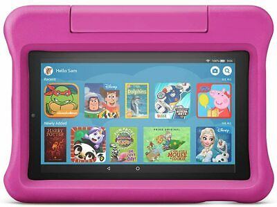 *NEW*  🎀PINK🎀 Amazon Fire 7  Tablet For Kids, 16GB • 79£