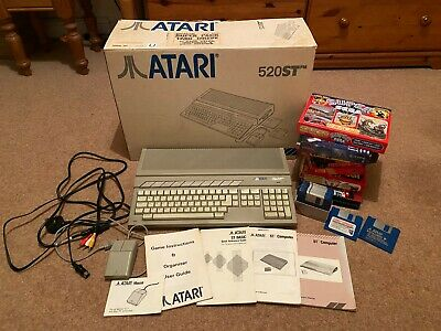 Atari 520 ST STFM Computer + Games + Mouse • 174.99£