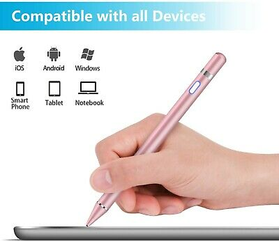 MEKO Stylus Pen For IPad, Capacitive 1.5mm Fine Point Rechargeable White  • 24.99£