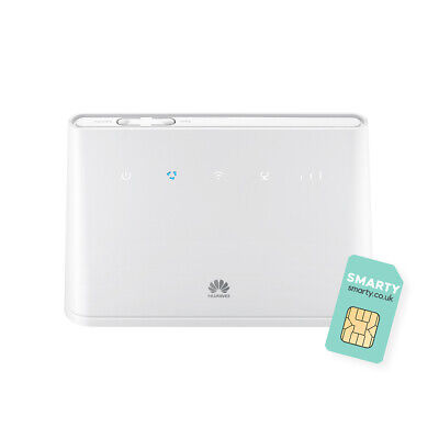 Huawei B311 2020, CAT 4, 4G/ LTE 150 Mbps Mobile Wi-Fi Router, Unlocked To All N • 63£