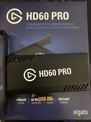 Elgato Game Capture Hd60 Pro 1080p For Xbox 360 Sony PlayStation 4 Wii U • 39£