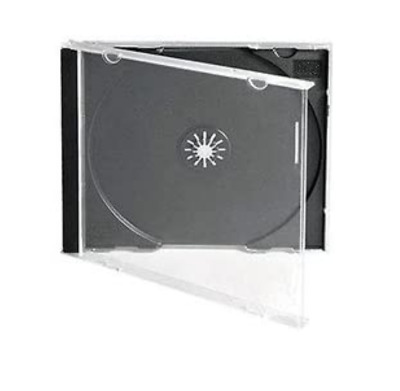 50 CD JEWEL CASES COMPLETE WITH BLACK TRAYS / GRADE A - 10.4 Mm SPINE - NEW • 13.95£