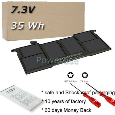 Battery For Apple MacBook Air Mid 2011 A1370 11  020-7377-A A1406 MC505 11-inch • 28.90£